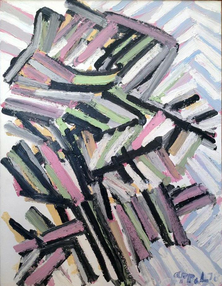 Karel Appel, Tree, 1978