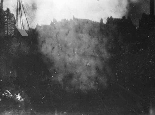 George Hendrik Breitner, Serie van de bouwput aan de Nieuwendijk nr. 164 t/m 176 te Amsterdam
