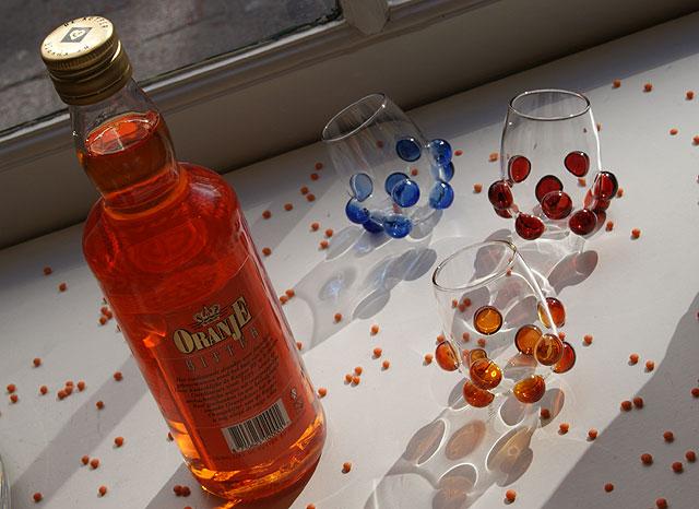 Massimo Lunardon Bolle transparante glaasjes