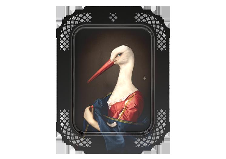 Madame la Cigogne door Ibride