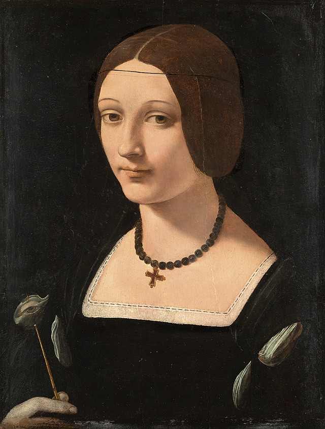 Portrait of a Lady as Saint Lucy ca. 1509 Oil on panel. 51.5 x 36.5 cm Museo Nacional Thyssen-Bornemisza, Madrid