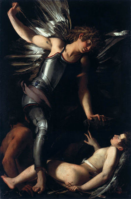 """Giovanni Baglione, """"Amor sacro e Amor profano"""""""